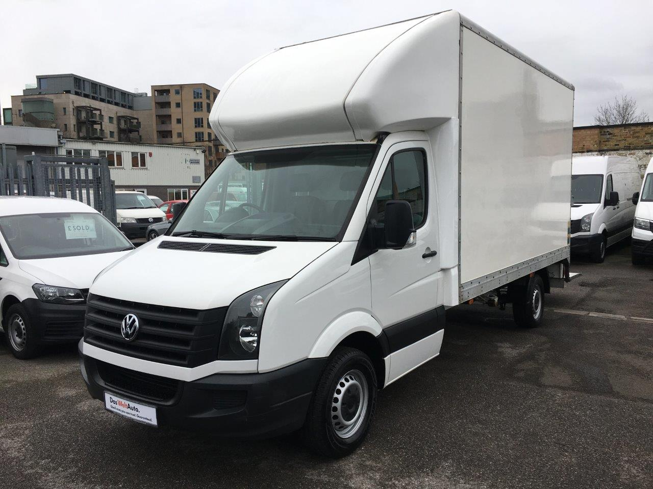 Crafter Chassis Cab 2.0TDi 109PS LWB Luton Tail-Lift